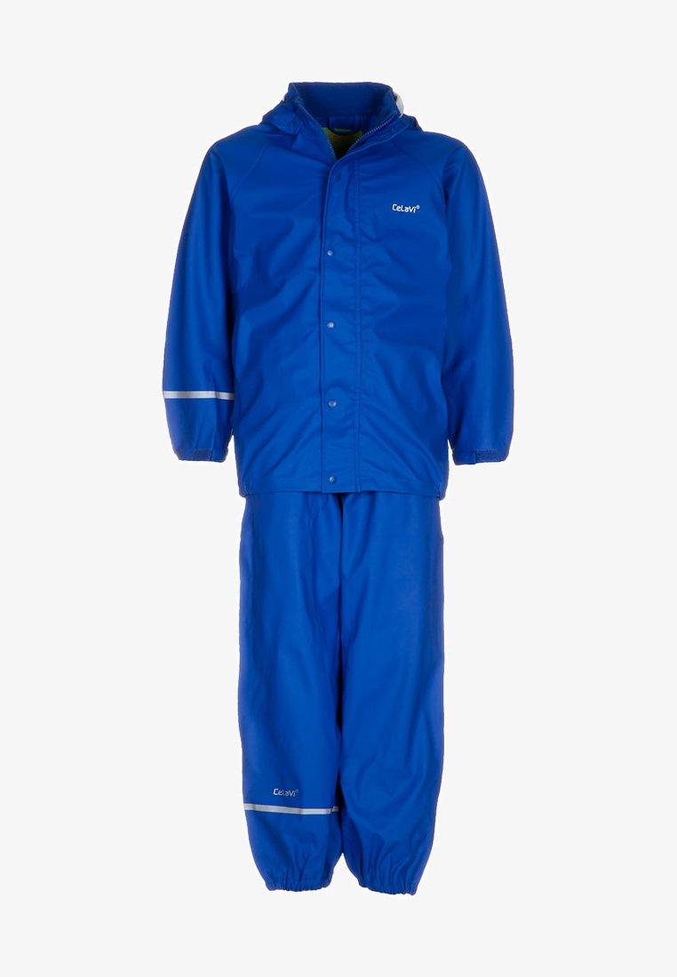 CeLaVi - RAINWEAR SUIT BASIC UNISEX - Waterproof jacket - ocean blue