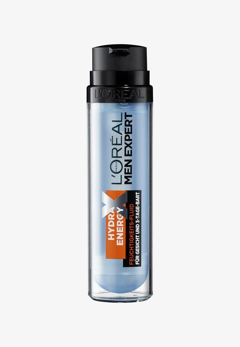 L'Oréal Men Expert - HYDRA ENERGETIC MOISTURIZING FLUID THREE-DAY BEARD - Beard oil - -