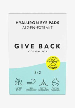 HYALURON EYE PADS ALGEN-EXTRAKT – 3ER PACK- SPENDE: TIERSCHUTZ - Eyecare - -
