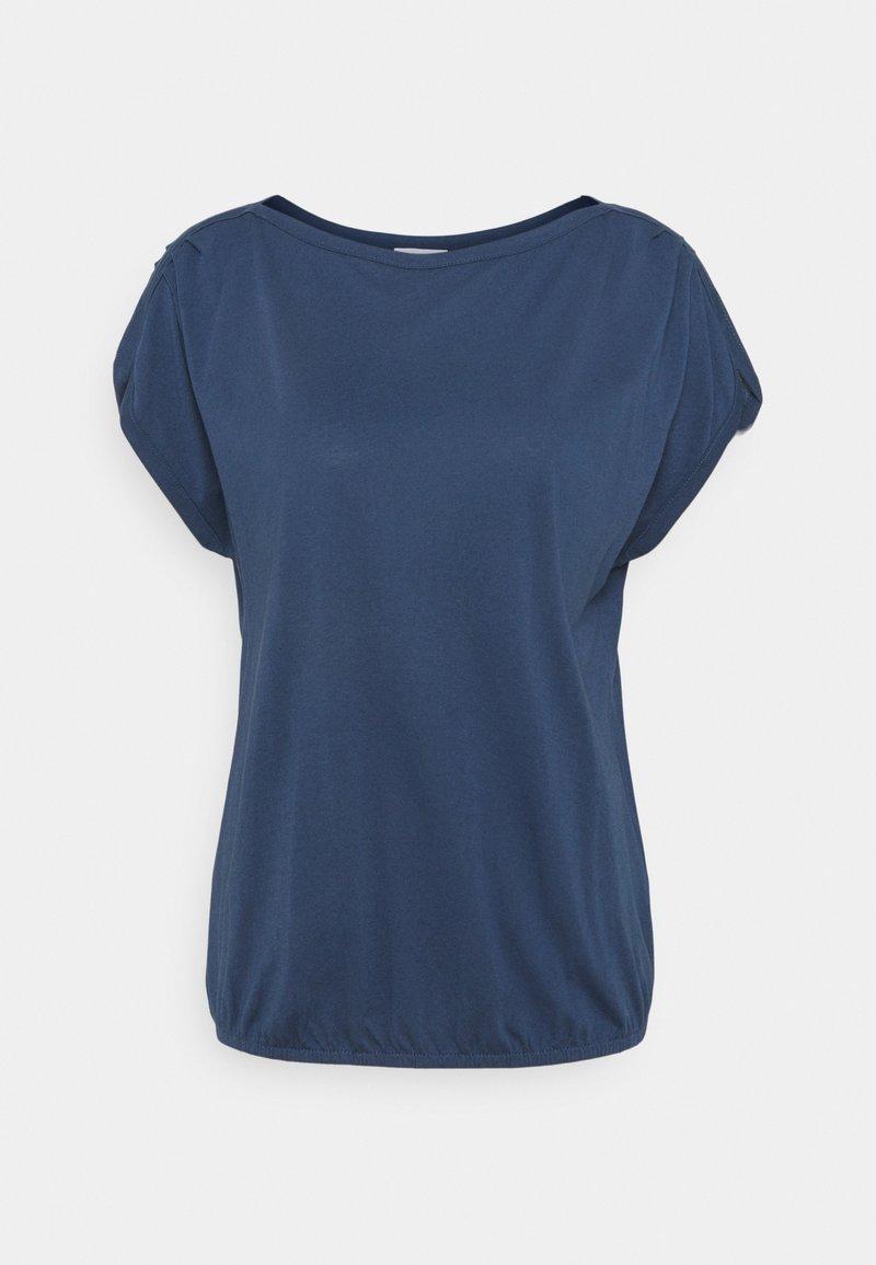 s.Oliver - KURZARM - Basic T-shirt - dark blue