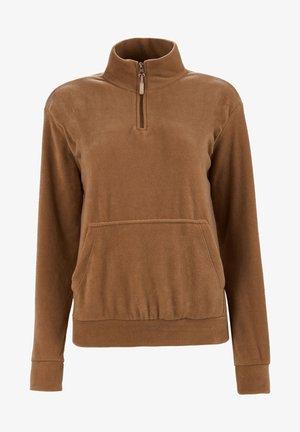 Fleece trui - snuff colored
