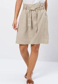 zero - A-line skirt - beige - 0