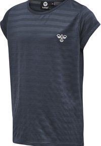 Hummel - T-shirt print - ombre blue - 1