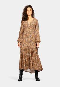 Isla Ibiza Bonita - Maxi dress - mysterious indian flowers - 1