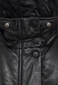 Oakwood - BERRY - Winter coat - black - 3