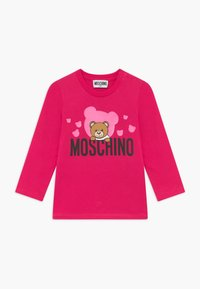 MOSCHINO - Long sleeved top - fucsia flower - 0