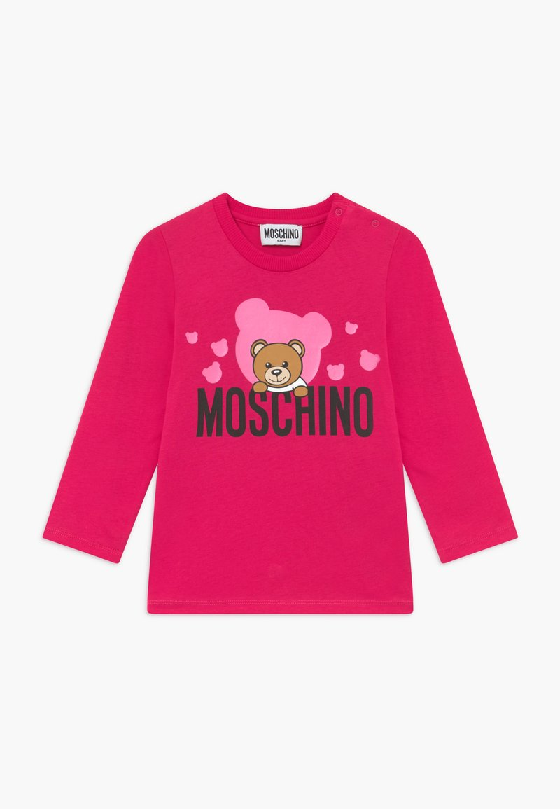 MOSCHINO - Long sleeved top - fucsia flower