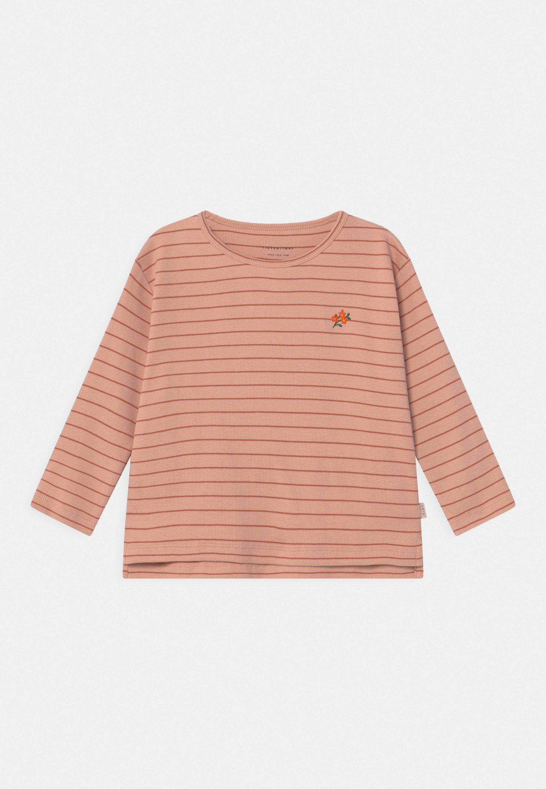 Kids FLOWERS STRIPE  - Long sleeved top