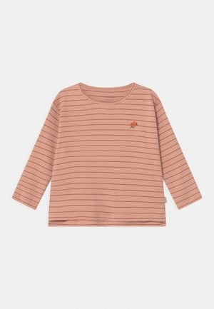 FLOWERS STRIPE  - Long sleeved top - pink
