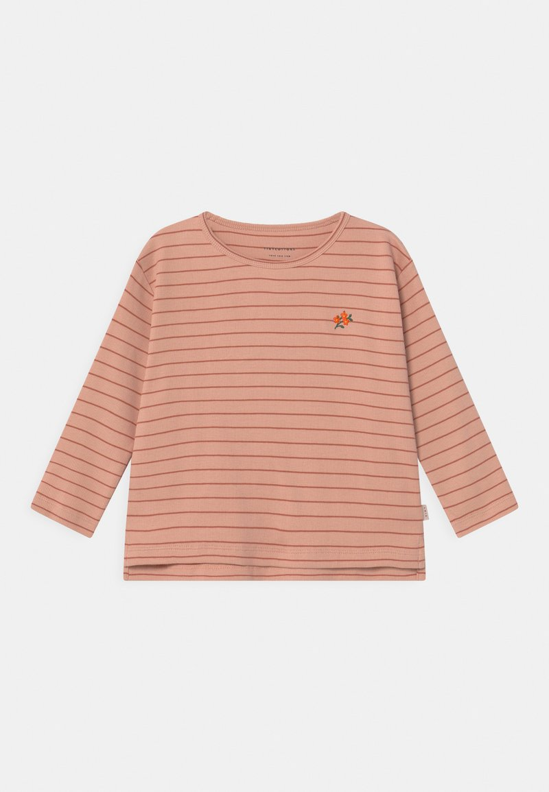 TINYCOTTONS - FLOWERS STRIPE  - Long sleeved top - pink