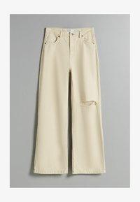 Bershka - Jeans a zampa - sand - 4