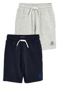 Next - 2 PACK SHORTS - Shorts - light grey - 0
