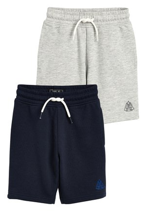 2 PACK SHORTS - Shorts - light grey