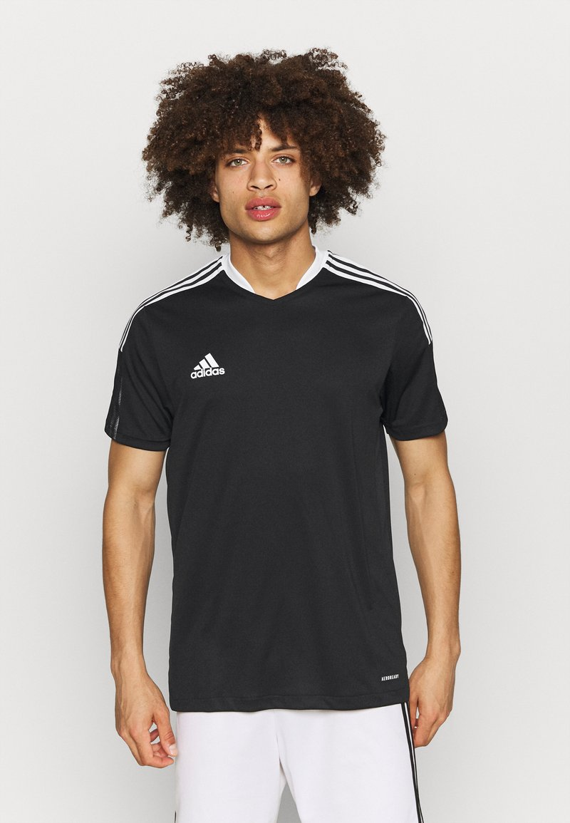 adidas Performance - TIRO 21 - T-shirts print - black
