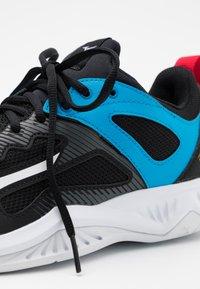 Mizuno - GHOST SHADOW - Handball shoes - black/white/diva blue - 5