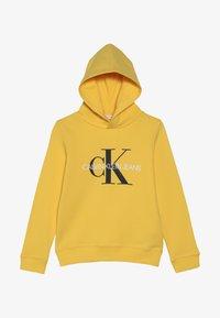 Calvin Klein Jeans - MONOGRAM HOODIE UNISEX - Huppari - yellow - 2