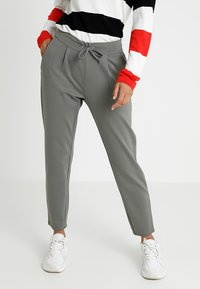 JDY - PRETTY PANT JRS NOOS - Tracksuit bottoms - castor gray - 0