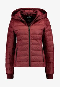 LIGHTWEIGHT PUFFER JACKET - Light jacket - burg