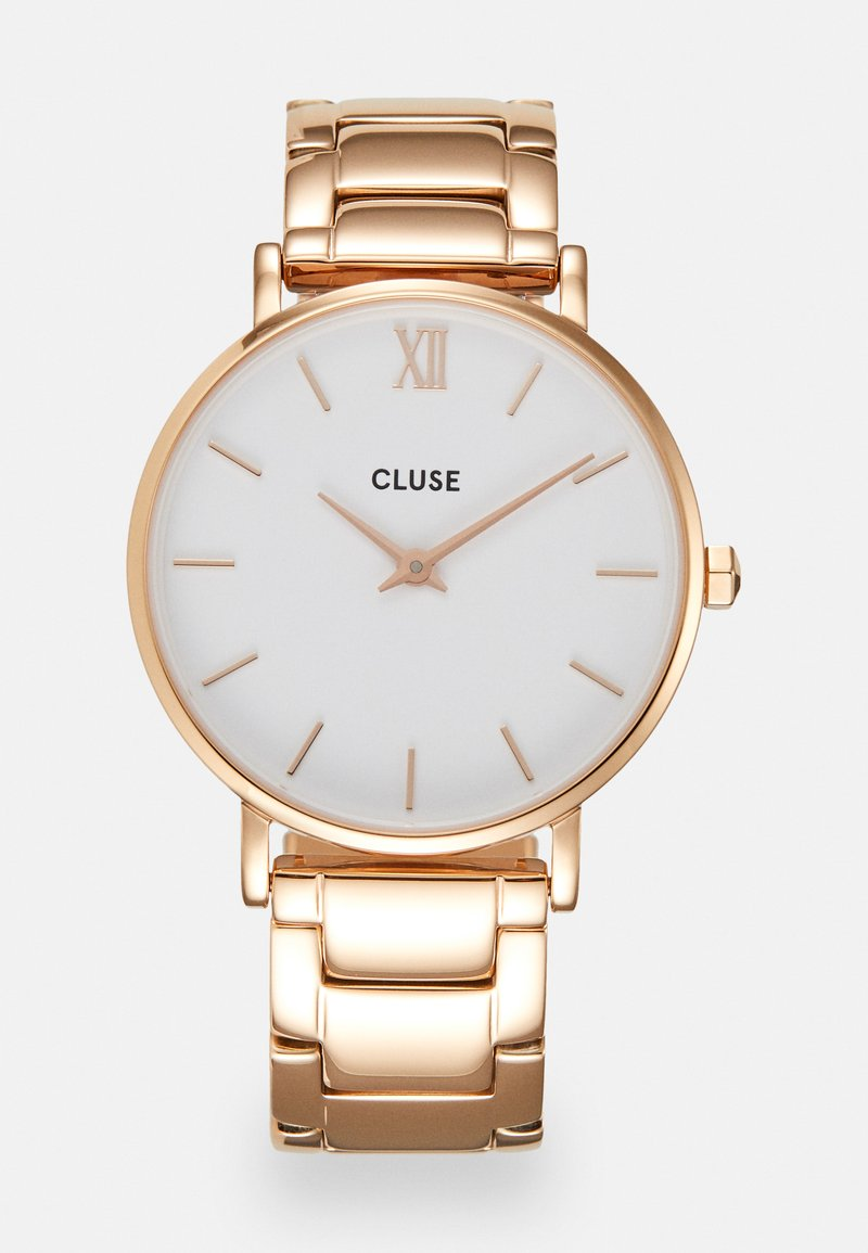 Cluse - MINUIT - Watch - rose gold-coloured/white