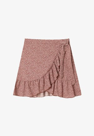 RUSTIKALER - Mini skirt - light brown