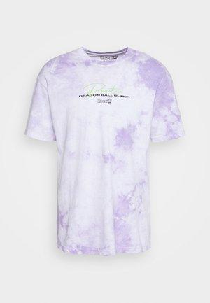BEERUS WASHED TEE - T-shirt basic - white