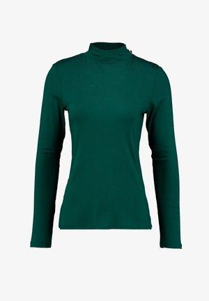 STAND COLLAR - Top sdlouhým rukávem - bottle green