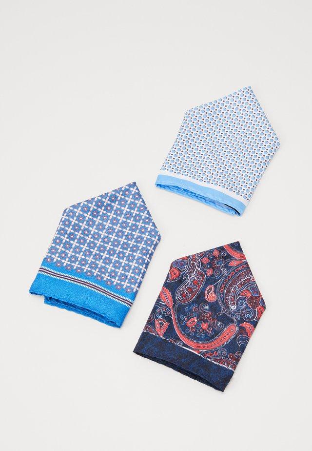 JACJONAS HANKIE BOX 3 PACK - Pocket square - navy blazer/cashmere edge/port royal