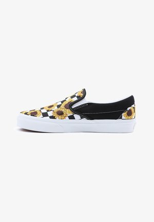 UA CLASSIC SLIP-ON - Sneakers - sunflowerembrdry blktrwt
