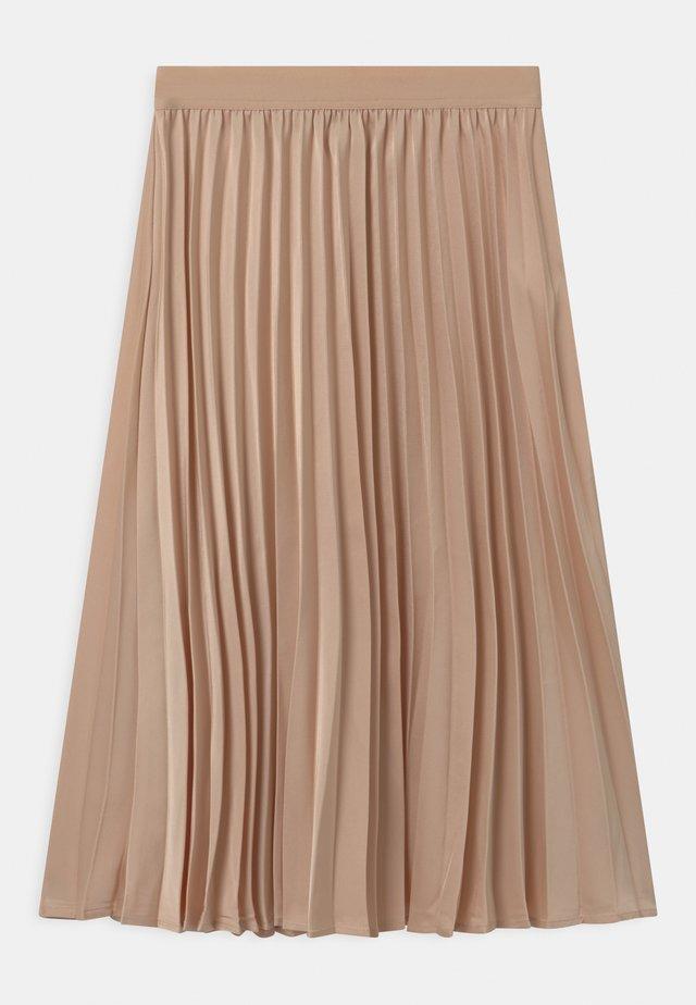 HAZZ - A-line skirt - nature