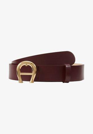 Belt - burgundy