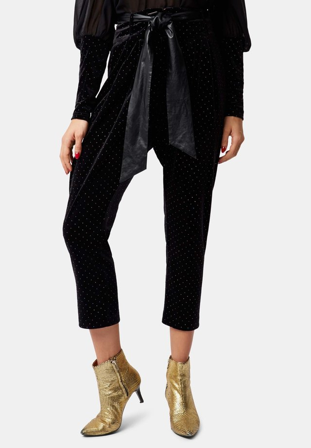 COLBY - Trousers - black