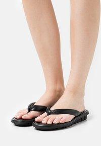 Oa non fashion - T-bar sandals - nero - 0