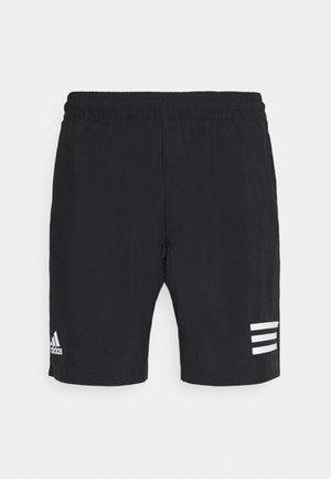 CLUB - Pantalón corto de deporte - black/white