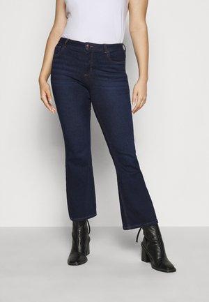 JPOSH LONG ELLEN  - Bootcut jeans - dark blue denim