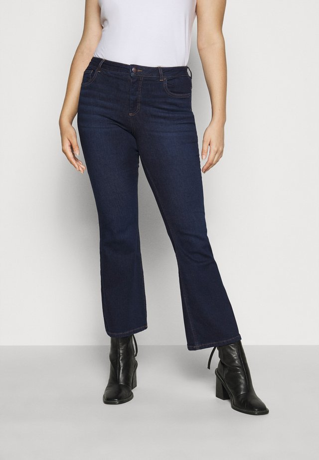 JPOSH LONG ELLEN  - Vaqueros bootcut - dark blue denim
