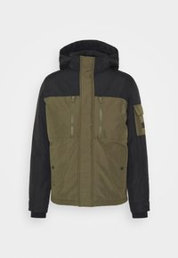 JJFERGUS JACKET - Waterproof jacket - forest night