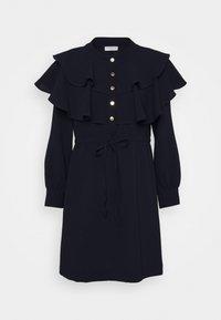 sandro - Day dress - marine - 0