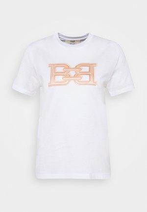 CLASSIC TEE - Print T-shirt - white