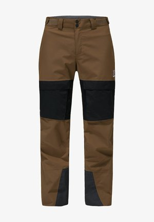ELATION GTX PANT - Snow pants - teak brown/true black