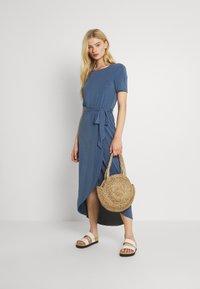 Object - OBJANNIE NADIA DRESS - Maxi dress - ensign blue - 1