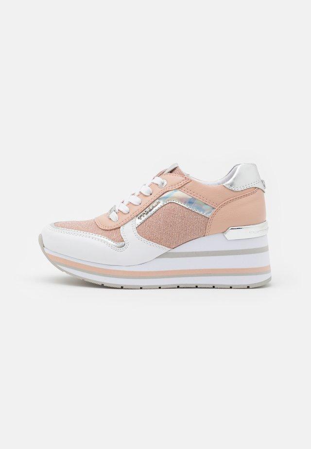 Sneakersy niskie - white/rose