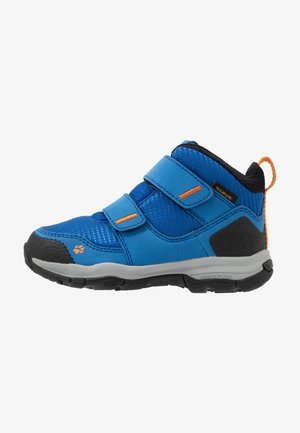 MTN ATTACK 3 TEXAPORE MID  - Hiking shoes - blue/orange