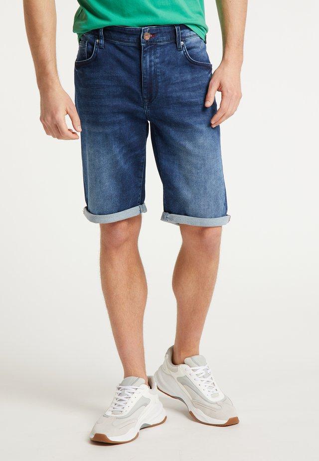 SHORTS - Shorts vaqueros - deep blue sea