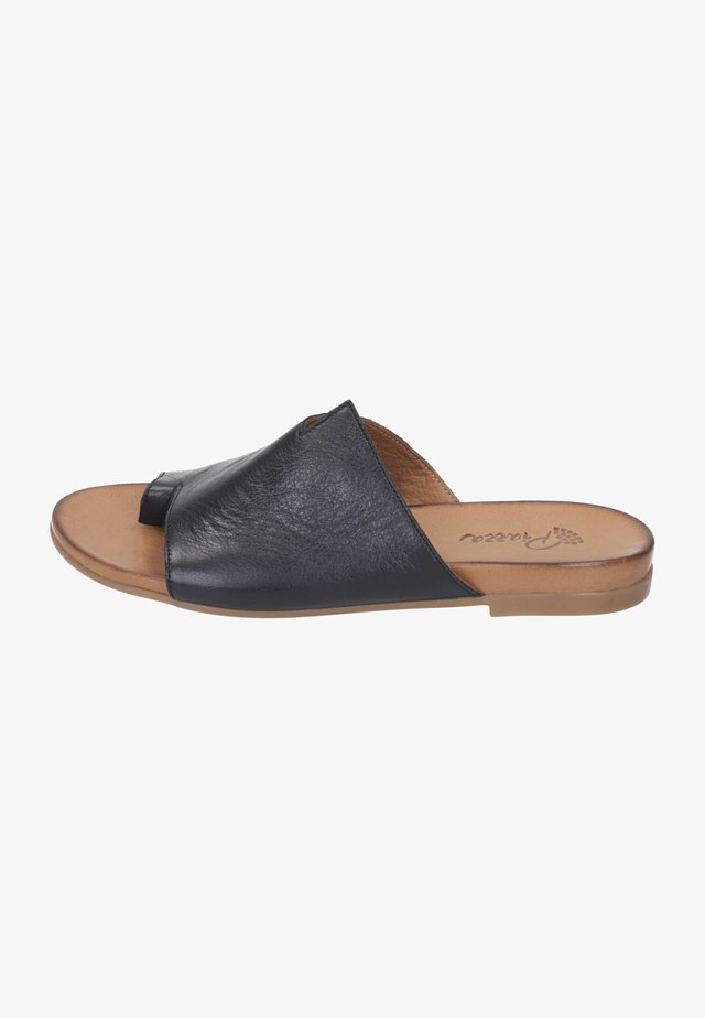 T-bar sandals - schwarz