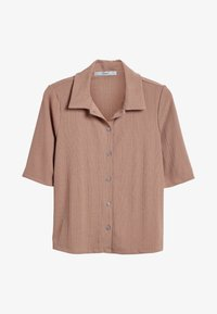 Next - Button-down blouse - tan - 3