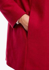 Triangle - Short coat - dark red - 5