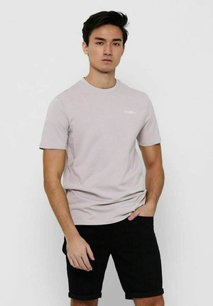 Print T-shirt - raindrops