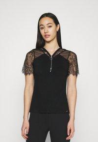 Morgan - DAYANA - Print T-shirt - noir - 0