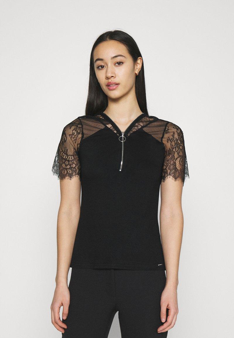 Morgan - DAYANA - Print T-shirt - noir