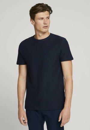Basic T-shirt - sky captain blue